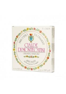 Confezione cartone da 5 cialde di Montecatini - Bargilli