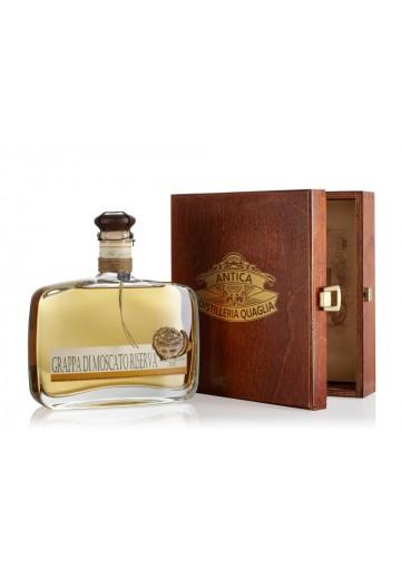 Moscato Riserva 2012 - Grappa Invecchiata - Antica Distilleria Quaglia